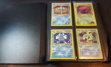 UltraPro Binder with Pokemon Cards - 37 Holographic Old School Pokemon Cards