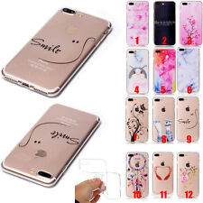 iphone 5S TPU case Soft Clear Silicone Rubber Case Cover For Apple Iphone 7 Plus