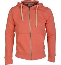 Jack & Jones Men's Originals Storm Zip Through Hoody spice coral