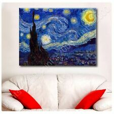 POSTER Or STICKER Decals Vinyl Starry Night Vincent Van Gogh Wall Art Posters