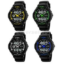 Mens Analog Digital LED Date Day Military Sport Watch Alarm Quartz Wristwatch