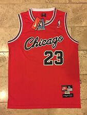 Nike Chicago Bulls Michael Jordan Rookie Throwback Jersey Men's XL Retro Rare 23