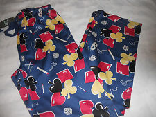 Peter Alexander Mens Cards Lounge Pj Pants  Size XS, S  BNWT