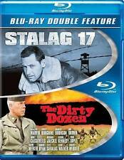 NEW/SEALED - Stalag 17/The Dirty Dozen (Blu-ray Disc, 2014, 2-Disc Set)