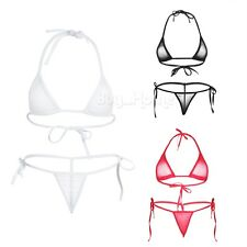 Swimwear Women Triangle Bikini Set Bandage Push-Up Swimsuit Bathing Beachwear!