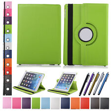 For Apple iPad 2 3 4 5 6 Air Mini Leather Rotating Cover Case Stand Smart Shell
