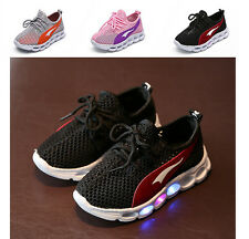 Baby Boys & Girls Lights Sport Sneakers Athletic Toddler Tennis Shoes Running