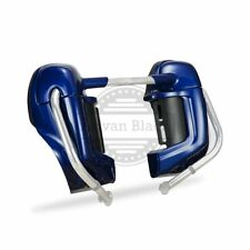 Superior Blue Lower Vented Fairings Fit Harley Street Electra Glide FLHR 83-2013