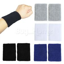 Gym Weight Lifting Wrist Wraps Bandage power Hand Support Tennis Training 2 pair