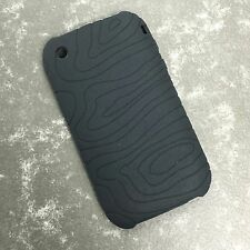 Silicone / Gel Case Cover for Apple iPhone 3GS 3G Black White Blue