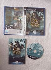 28654 The Lord Of The Rings The Two Towers - Sony Playstation 2 (2002) SLES 5125