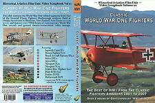Classic World War One Fighters  (WW1 Aircraft on DVD or BluRay)