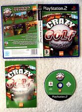29727 Crazy Golf World Tour - Sony Playstation 2 (2005) SLES 53318