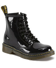 Dr Martens Brooklee Black Patent Leather Boots Toddler Girls Boys