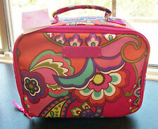 Vera Bradley Zip Around Lighten Up Lunch MateTote Pink Swirls Purse Tote NWT
