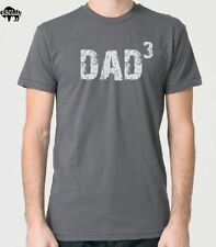 DAD 3 Men's T-Shirt cool t shirts funny tees Dad Gift Fathers Day Gift