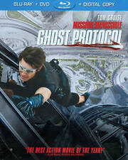 Mission: Impossible - Ghost Protocol (Blu-ray/DVD, 2012, 2-Disc Set, Includes