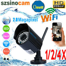 HD 720P Wireless IP WiFi Camera Security CCTV Night Vision P2P iPhone Android PC