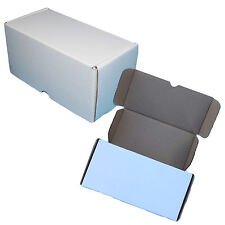 """8 x 4 x 4"""" Cardboard Packing Boxes Mailing Cartons High Quality White"""