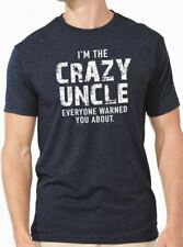 I'm The Crazy Uncle T-Shirt cool tshirt designs funny tees Uncle Gift