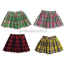 1/6 Mini Skirt Student Uniform Short Dress Accessories for 12 inch Action Figure