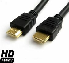 GOLD PLATED HDMI TO HDMI CABLE LEAD FOR HDTV PS3 3D XBOX BLU-RAY DVD PLAYERS