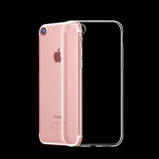 0.3mm Ultra Thin Crystal Clear TPU Silicone Case Cover Transparent for iPhone 7