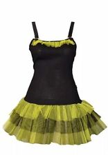 Death Kitty  sexy Green Tutu Dress rock punk goth rave party fancy dress