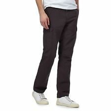 Mantaray Mens Dark Grey Cargo Trousers From Debenhams