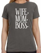 Wife. Mom. Boss. Women's T-Shirt cool tshirt designs funny tees mom gift wife