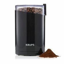 Coffee Bean Spice Grinder Burr Stainless Blades Steel Mill Electric Black New