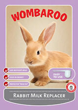 Wombaroo Rabbit Milk Replacer 180g Feed Supplement Powder Food