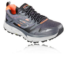 Skechers Go Trail Ultra 3 Mens Orange Grey Running Sports Shoes Trainers