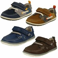 Infant Boys Clarks First Shoes 'Softly Boat'