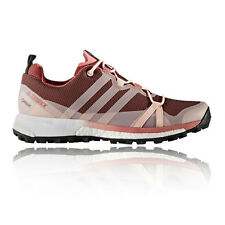 Adidas Terrex Agravic Womens Pink Gore Tex Waterproof Running Shoes Trainers