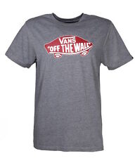 Vans Off the Wall T-Shirt Heahter Grey men's t-shirt size s-XL