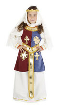 Childs Queen Guinevere Fancy dress Costume - aged 5-13 - By Nines d'Onil