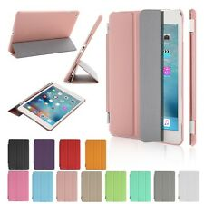 "Ultra Slim Smart Cover Back Skin Case for iPad 2 3 4 Mini Air Pro 9.7"" New"