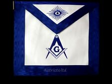 masonic regalia-MASONIC BLUE LODGE APRONS AND COLLARS PREMIUM QUALITY