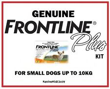 FRONTLINE PLUS FLEA & TICK TREATMENT KIT FOR DOGS 0-10KGS UP TO 6 MONTHS' SUPPLY
