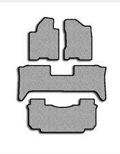 2004-2008 Nissan Armada 4 pc Set Factory Fit Floor Mats (Console - 2nd row)