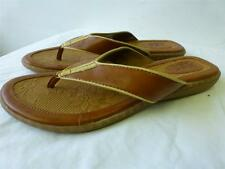 NEW womens BOC BORN Concept brown slip sandals flip flops thongs shoes sz 10 42