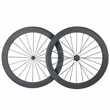 Ceramic Bearing 50mm Clincher Carbon Wheels Road Bicycle Road Bike Wheelset