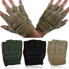 A Pair Of Cycling Gloves Men Outdoor Sport Cycling Gloves Half Finger Gloves ZP