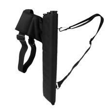 New Arrow Quiver Waist Clip Archery Bow Bag Holds 30 Arrows 3 Tube Storage Pouch