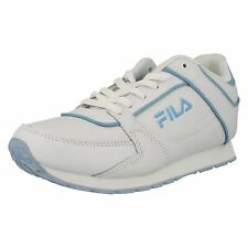 KIDS UNISEX FILA LACE UP ROUND TOE CAUAL SPORT TRAINERS SHOES SIZE MILANO