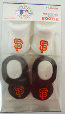 SAN FRANCISCO GIANTS BOOTIE BOOTIES BABY INFANTS SHOES STITCH AKM MLB BASEBALL
