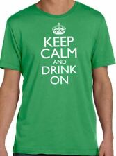 Keep Calm and Drink On Men's T-Shirt cool tshirt designs funny tees party shirt