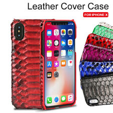 HOT Genuine Python Snake Skin Leather Shell Case Cover For Apple iPhone 7 7 Plus