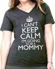I Can't Keep Calm I'm Going to be a Mommy Maternity T Shirts Funny Shirt